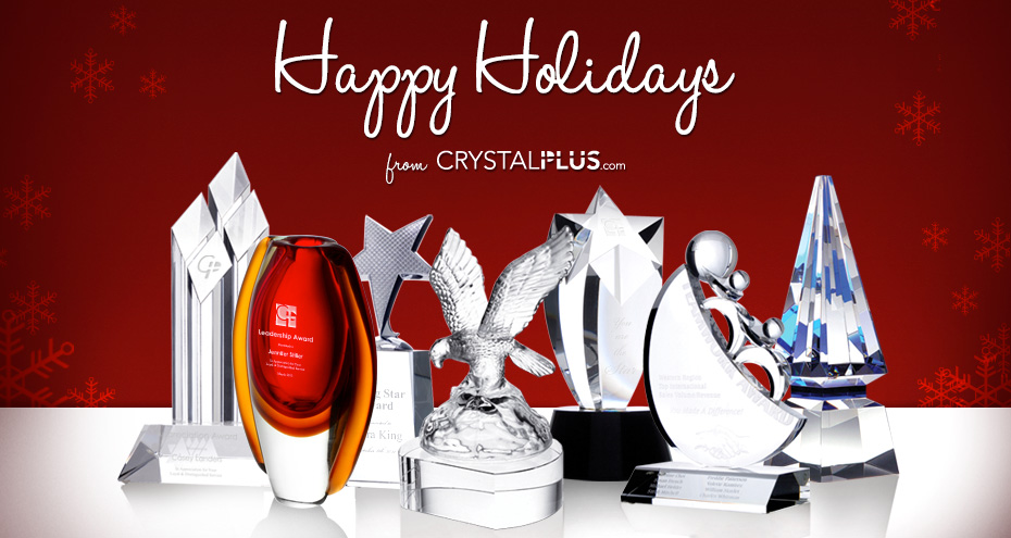 Personalized Crystal Awards Glass Trophies Gifts