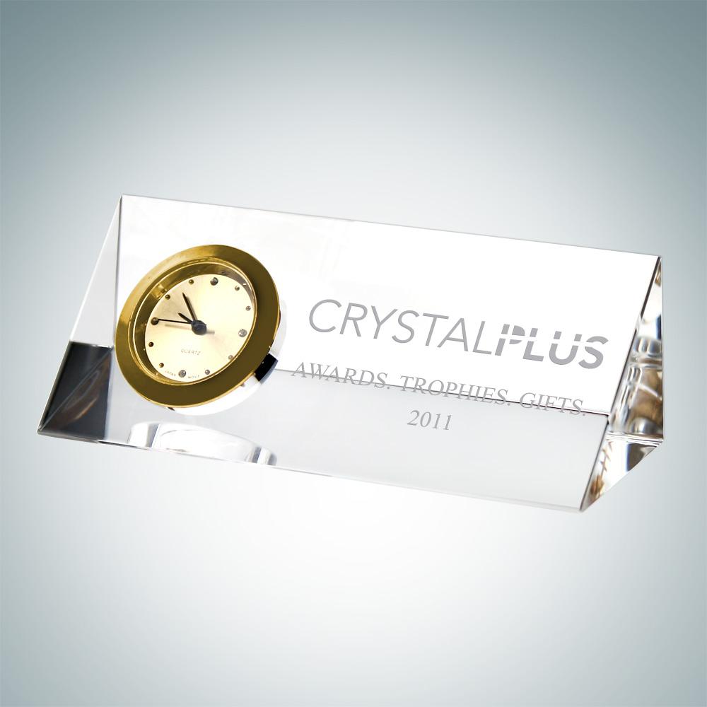 Triangle Side Clock