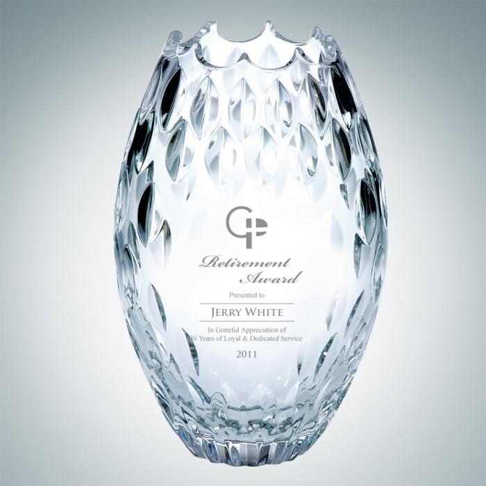 Clear Ocean Vase