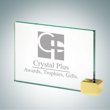 Achievement Award with Brass Rectangle