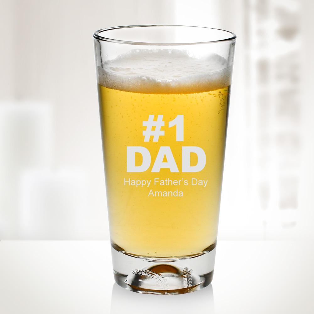 16oz Baseball Beer Glass Cup