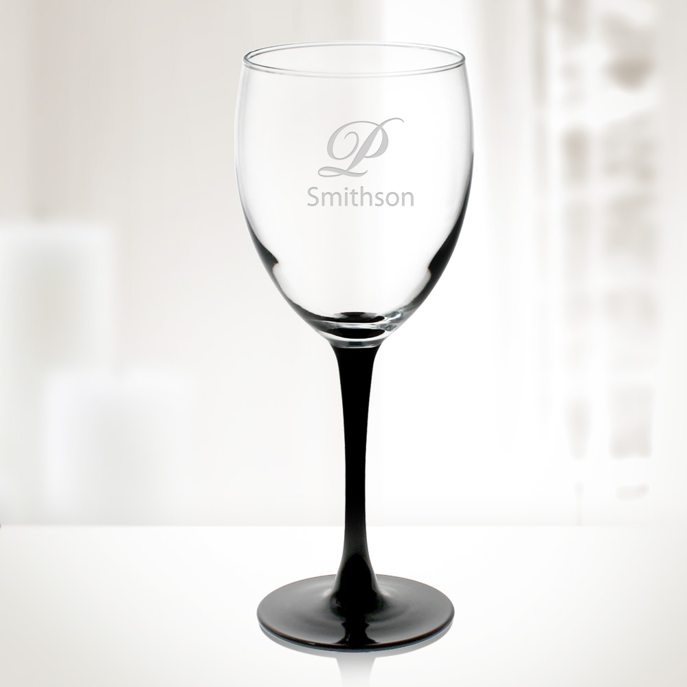 10.5oz Signature Black Goblet