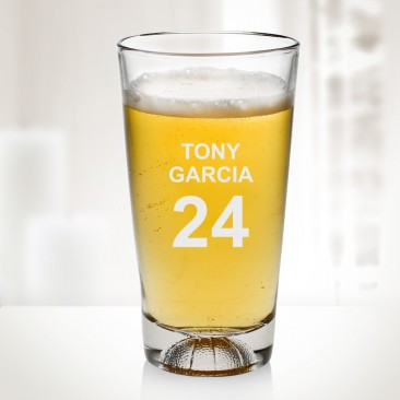 16 oz Basketball Beer Glass Cup