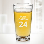 Engraved 16 oz Molten Glass Basketball Beer Mugs