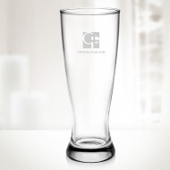 Engraved Molten Glass 20oz Pilsner Beer Cup