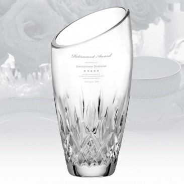 Waterford Lismore Essence Angled Vase