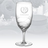 Waterford Ballet Ribbon Essence 19oz Iced Beverage Glass