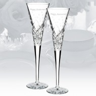 Waterford Wishes Happy Celebrations 5oz Flute, Pair