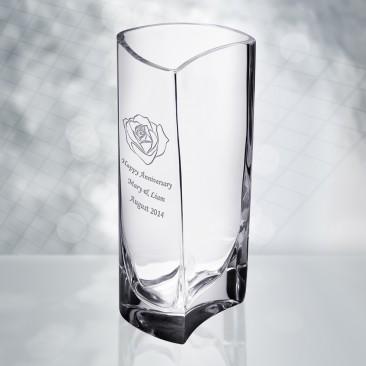 Orrefors Klone Cylinder Vase