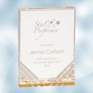 Gold Jewel Mirage Acrylic Award
