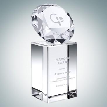 Diamond on Column Crystal Base