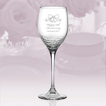 Vera Wang Wedgwood Sequin Wine Glass 16oz