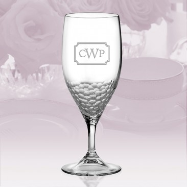 Vera Wang Wedgwood Sequin Iced Beverage Glass 14oz