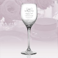 Vera Wang Wedgwood Sequin Wine Glass 16oz