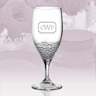 Vera Wang Wedgwood Sequin Iced Beverage Glass 14oz