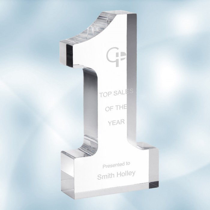 Acrylic Number One Award