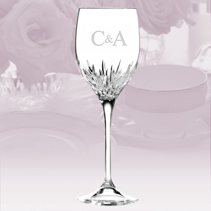 Vera wang wedgwood vera wang wedgwood duchesse wine glass stemware - Vera wang stemware ...