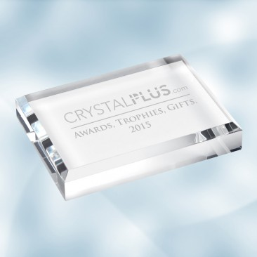 Acrylic Rectangle Paperweight