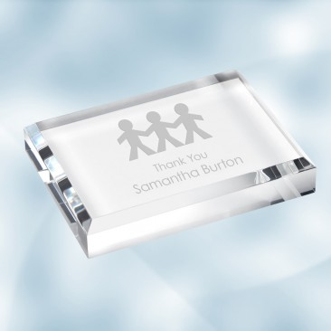 Acrylic Rectangle Paperweight Gift