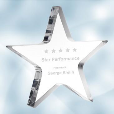 Acrylic Star Award
