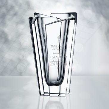 Orrefors Glacial Vase