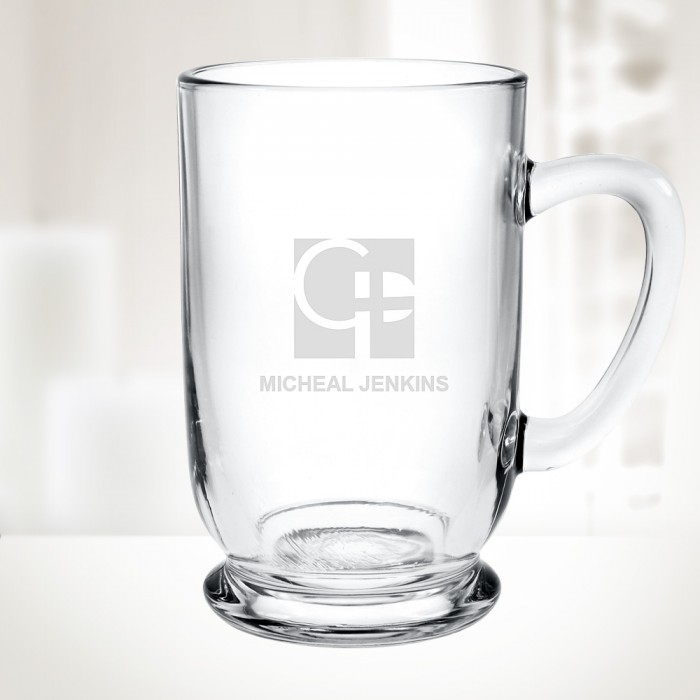 16 oz Bolero Glass Mug