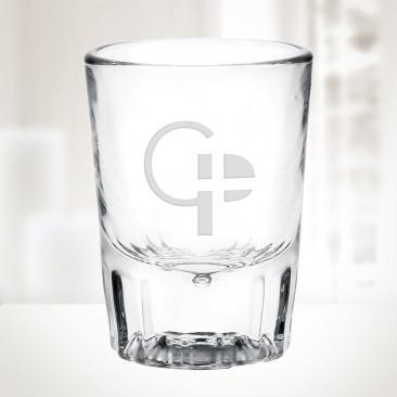2oz Fluted Whiskey Shot Glass
