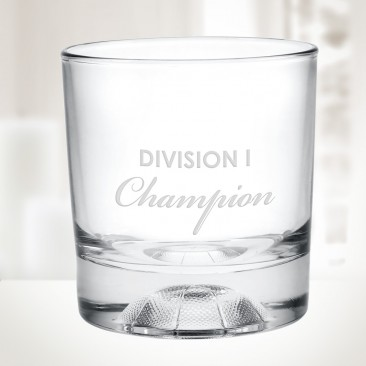 10oz Champions Basketball Otr Whiskey Glass