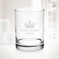 13oz Aristocrat DOF Whiskey Glass