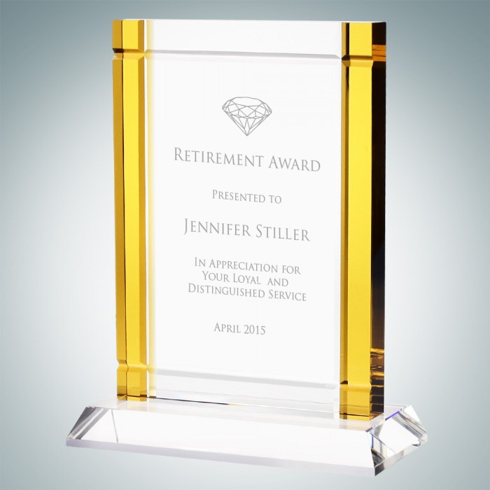Classic Amber Deco Award