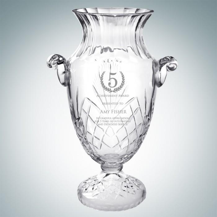 Crystal Ftd Vintage Vase