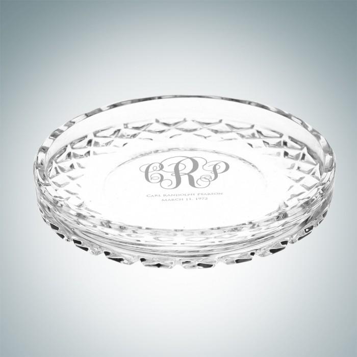 Circle Crystal Coasters Set