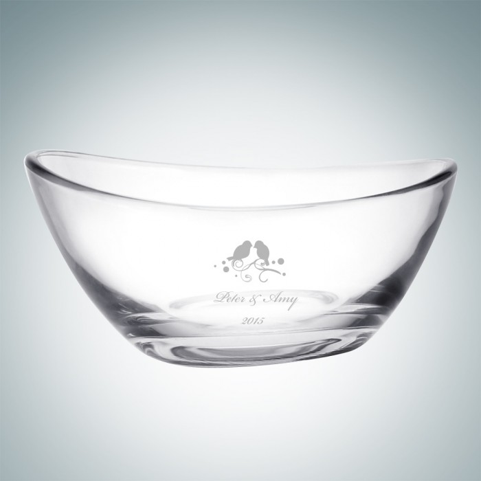 Papaya Glass Bowl