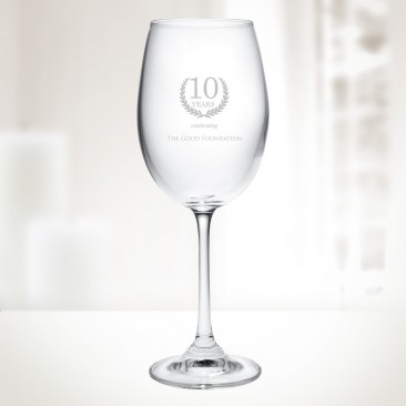 Crystalite 9.5 oz Gourmet White Wine Glass