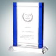 Classic Blue Deco Award (Crystal Base)