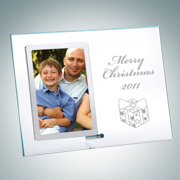 Vertical Stainless Photo Frame
