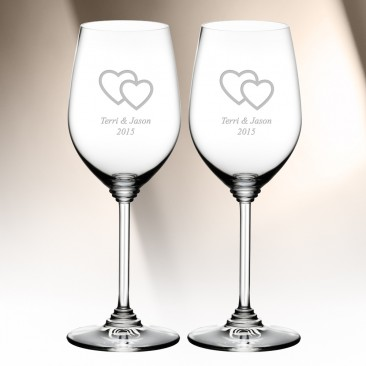 Riedel Zinfandel Riesling Wine Glass 13.4oz, Pair