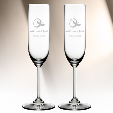 Riedel Champagne Wine Glass Pair, 8.1oz