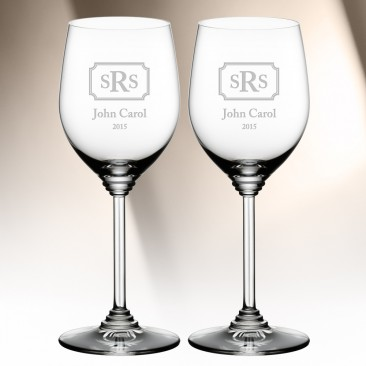 Riedel Viognier Chardonnay Wine Glass Pair, 13oz
