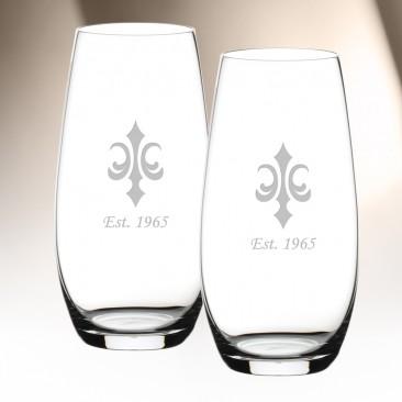 Riedel O Champagne Tumbler Pair, 9.3oz