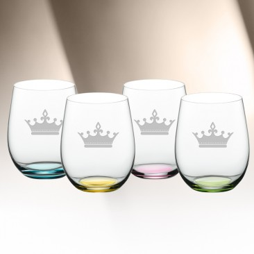 Riedel O Happy Water Glass 11.3oz, 4pcs Set