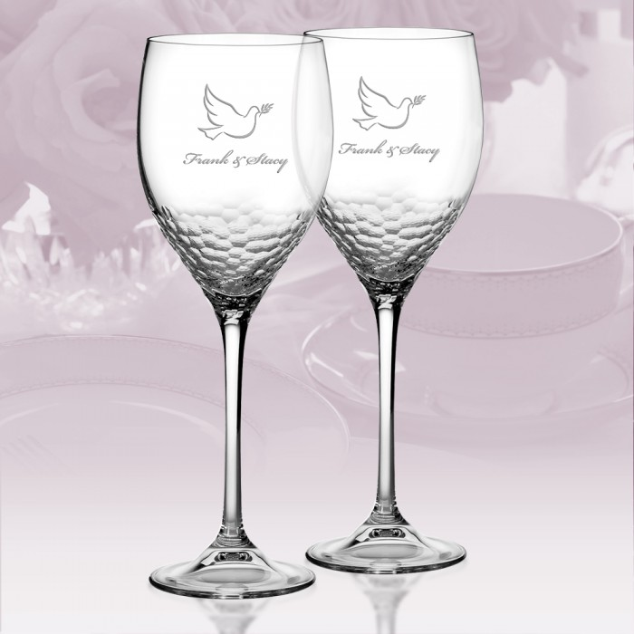 Drinkware Vera Wang Wedgwood Sequin Goblet Personalized Gift