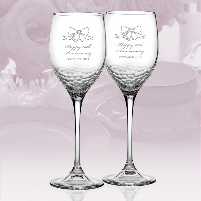 Vera Wang Wedgwood Sequin Wine