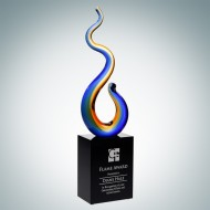 Art Glass Flame Award