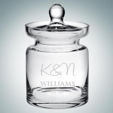 Royal Glass Jar
