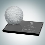Golf ball with Smoke Glass Base