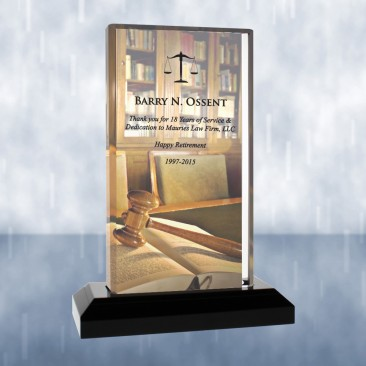 Sublimational Beveled Impress Acrylic Award