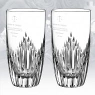 Monique Lhuillier Waterford Stardust Highball, 13oz Pair