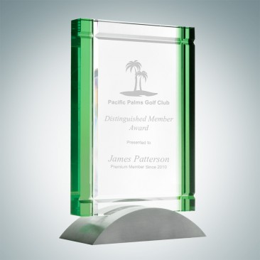 Green Deco Award (Aluminum Base)