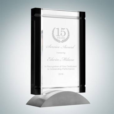 Black Deco Award (Aluminum Base)
